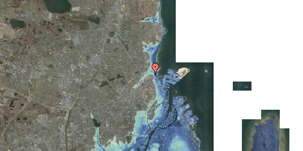 Stomflod og havvand på Sølundsvej 8C, 2100 København Ø