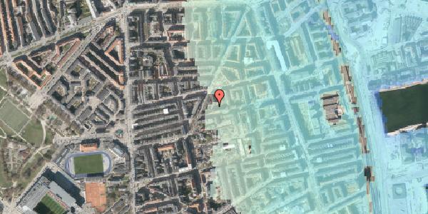 Stomflod og havvand på Viborggade 47A, 2100 København Ø