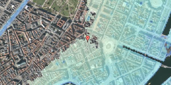 Stomflod og havvand på Grønnegade 14, 3. , 1107 København K