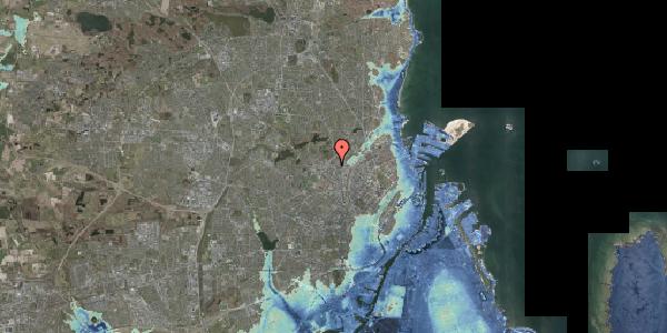Stomflod og havvand på Dortheavej 2, 3. 6, 2400 København NV