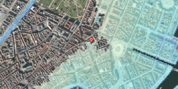 Stomflod og havvand på Gammel Mønt 2, 1117 København K