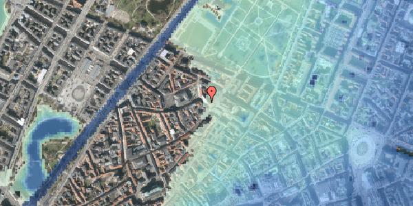 Stomflod og havvand på Suhmsgade 2A, 1125 København K
