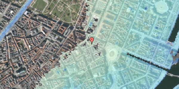 Stomflod og havvand på Ny Østergade 16, 2. , 1101 København K