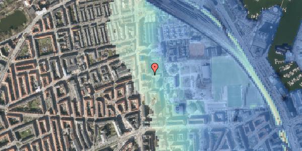 Stomflod og havvand på Johan Svendsens Vej 10, 2100 København Ø