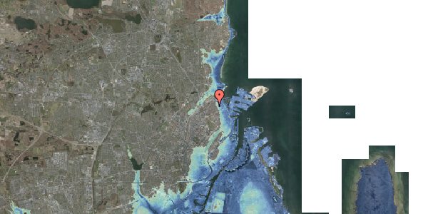 Stomflod og havvand på Nygårdsvej 30B, 1. , 2100 København Ø