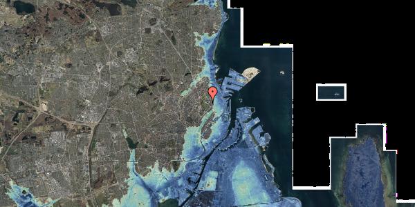 Stomflod og havvand på Øster Allé 42, 6. , 2100 København Ø