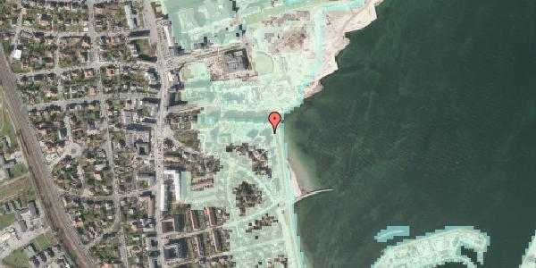 Stomflod og havvand på Strandpromenaden 71, 2100 København Ø
