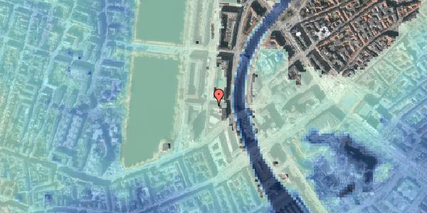 Stomflod og havvand på Herholdtsgade 1, 1605 København V