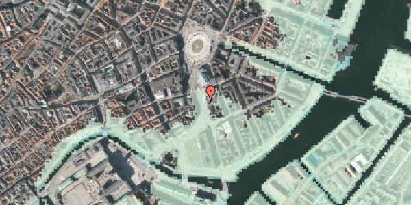 Stomflod og havvand på Holmens Kanal 5, 1060 København K