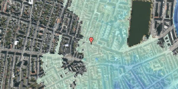 Stomflod og havvand på Gammel Kongevej 55, 1610 København V