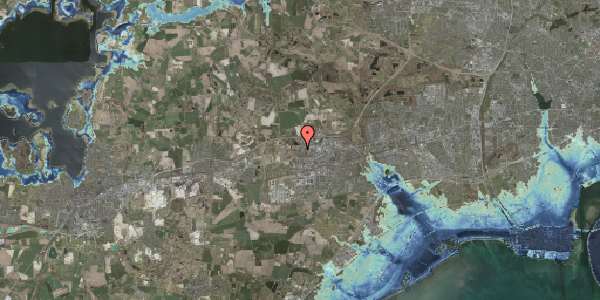 Stomflod og havvand på Gregersensvej 4H, 2630 Taastrup