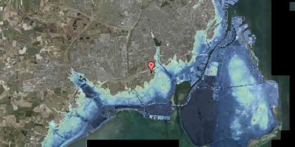 Stomflod og havvand på Hf. Kettehøj 98, 2650 Hvidovre