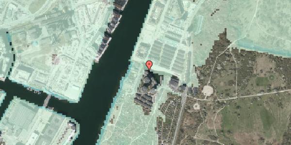Stomflod og havvand på Rundholtsvej 103, 2300 København S