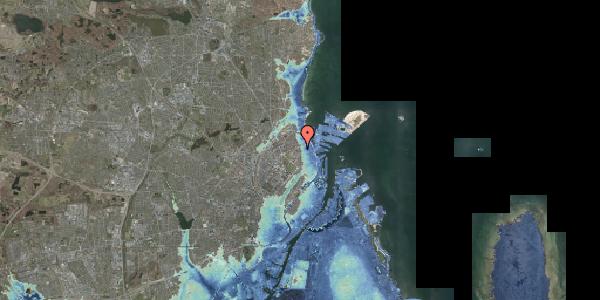 Stomflod og havvand på Vordingborggade 2C, 2. , 2100 København Ø