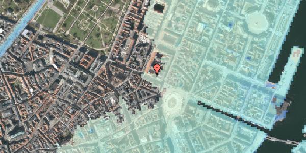 Stomflod og havvand på Gothersgade 10B, 3. , 1123 København K