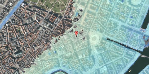 Stomflod og havvand på Pistolstræde 10A, 1. , 1102 København K