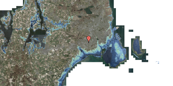 Stomflod og havvand på Sydvestvej 23A, 2600 Glostrup