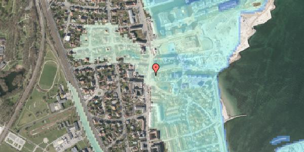 Stomflod og havvand på Strandvejen 32F, 2100 København Ø