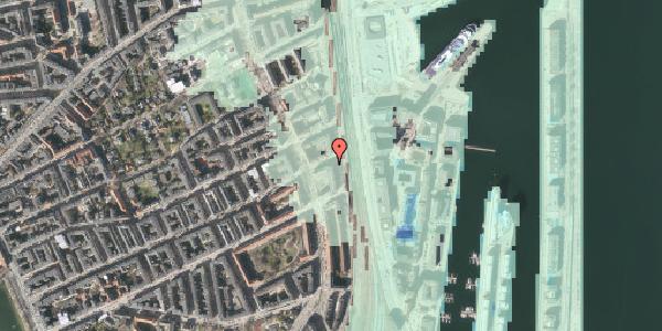 Stomflod og havvand på Willemoesgade 80, 1. , 2100 København Ø