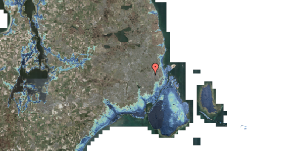 Stomflod og havvand på Vibevej 7C, 1. th, 2400 København NV