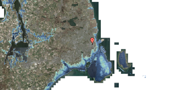 Stomflod og havvand på Rebslagervej 10, 3. 11, 2400 København NV