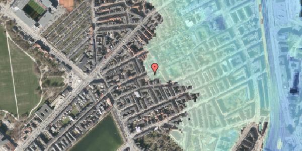 Stomflod og havvand på Rosenvængets Allé 20C, 2100 København Ø