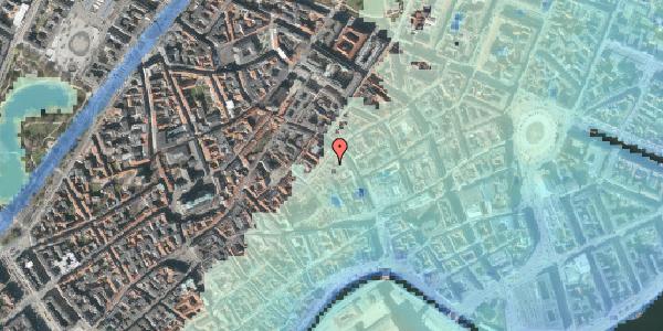 Stomflod og havvand på Valkendorfsgade 7B, st. , 1151 København K