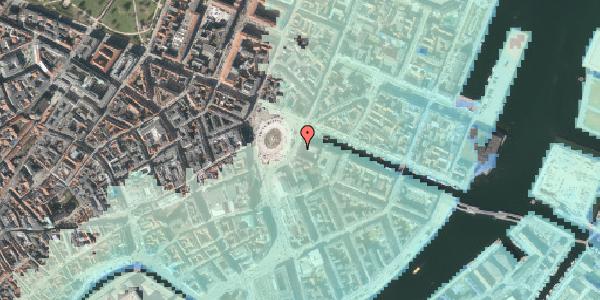 Stomflod og havvand på Kongens Nytorv 1, 2. , 1050 København K