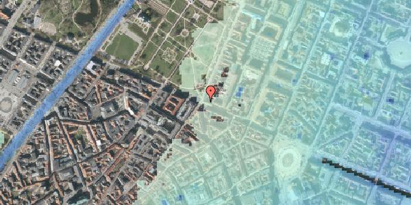 Stomflod og havvand på Gothersgade 58, 2. tv, 1123 København K
