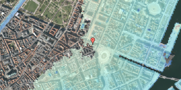 Stomflod og havvand på Gothersgade 11A, st. th, 1123 København K