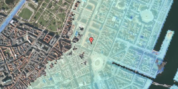Stomflod og havvand på Gothersgade 8D, st. , 1123 København K