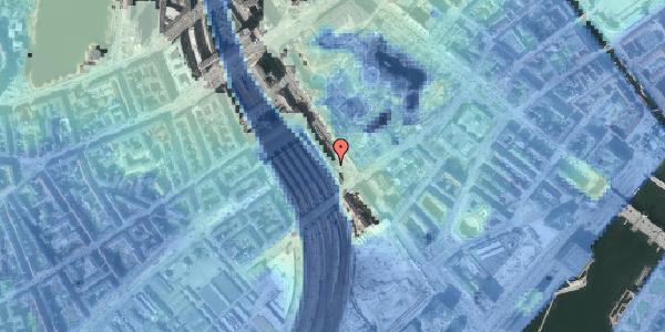 Stomflod og havvand på Bernstorffsgade 22, 3. , 1577 København V