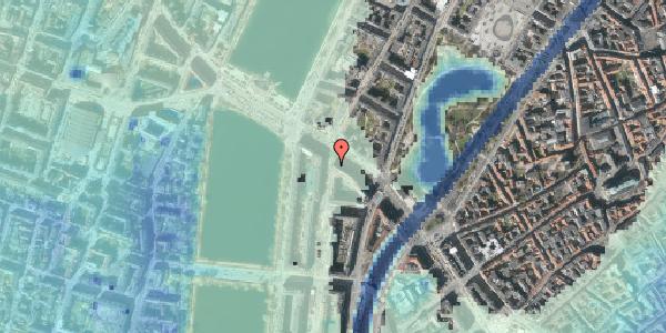 Stomflod og havvand på Nyropsgade 1, kl. , 1602 København V