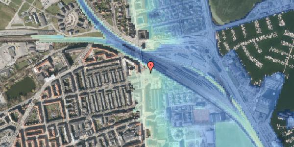 Stomflod og havvand på Ved Sporsløjfen 1, 2100 København Ø