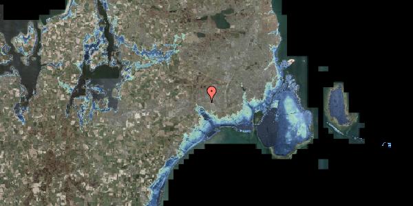 Stomflod og havvand på Gymnasievej 13, 2625 Vallensbæk