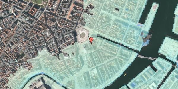 Stomflod og havvand på Kongens Nytorv 5, 3. , 1050 København K