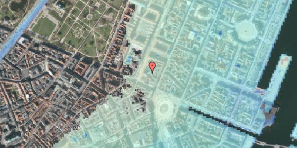 Stomflod og havvand på Gothersgade 8F, 3. , 1123 København K