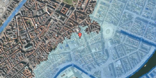 Stomflod og havvand på Pilestræde 8D, 1112 København K