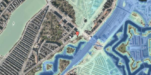 Stomflod og havvand på Stockholmsgade 60, 2100 København Ø