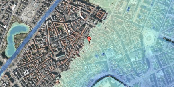 Stomflod og havvand på Løvstræde 8, 2. tv, 1152 København K