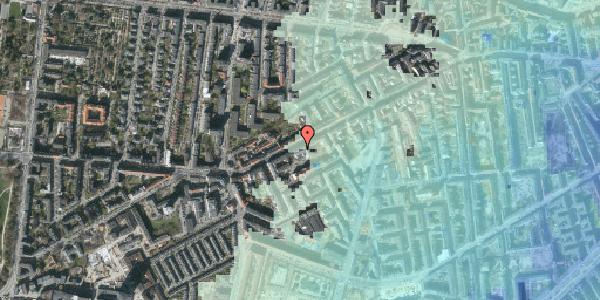 Stomflod og havvand på Vesterbrogade 121, 1620 København V