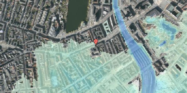 Stomflod og havvand på Vesterbrogade 25, 2. , 1620 København V
