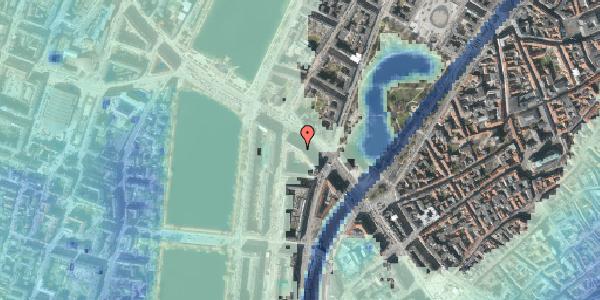Stomflod og havvand på Gyldenløvesgade 13, kl. , 1600 København V