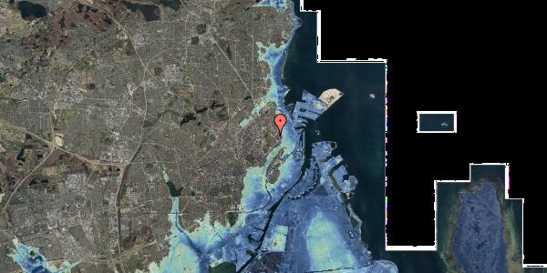 Stomflod og havvand på Øster Allé 40, 5. , 2100 København Ø