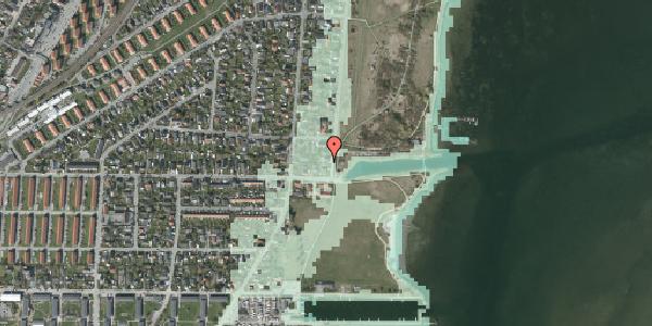 Stomflod og havvand på Lodsvej 83, 2650 Hvidovre