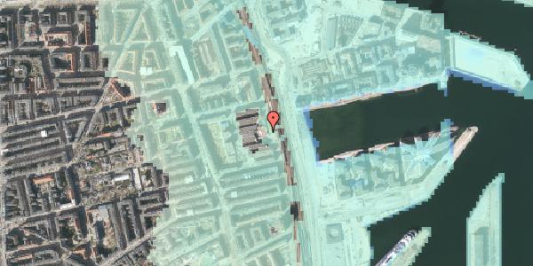 Stomflod og havvand på Østbanegade 121, 2100 København Ø