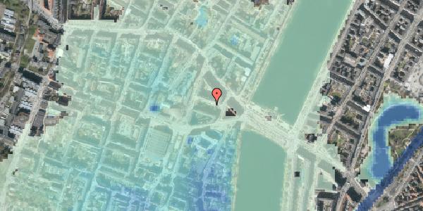 Stomflod og havvand på Herman Triers Plads 4B, 1631 København V