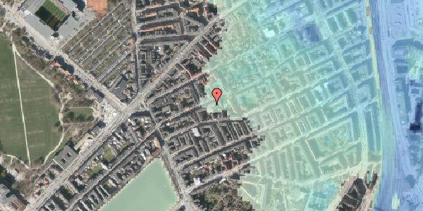 Stomflod og havvand på Rosenvængets Allé 20B, 2100 København Ø