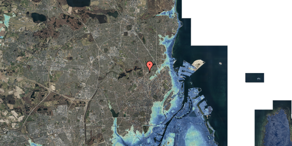 Stomflod og havvand på Peter Rørdams Vej 2A, 1. 2, 2400 København NV