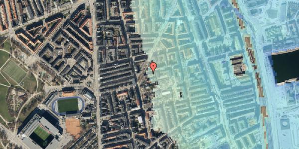 Stomflod og havvand på Viborggade 42, 1. , 2100 København Ø